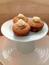 Apple Pie Cupcakes – GF, LC, SugarFree