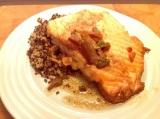 Soy Salmon with CoconutQuinoa
